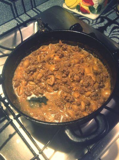 Still Full From My Hamburger Helper I Cooked Earlier