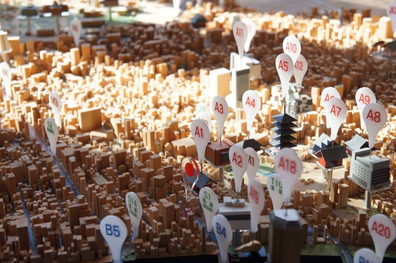 Abundance Maquette Map City