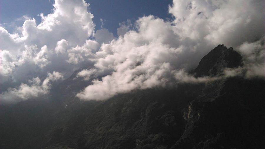 Memories ❤ Lachung Valley Yumthang Valley Clouds Mountains