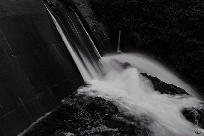 Nature River Monochrome Visions Of Emptyness