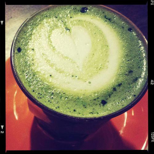 Greentea Latte