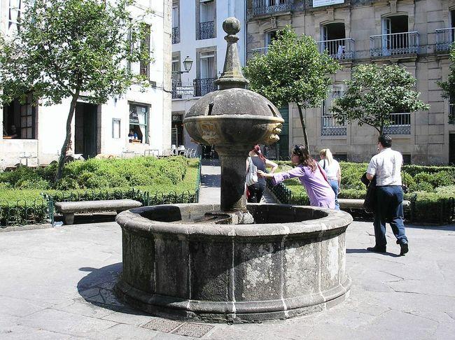 Galicia Santiago De Compostela Galicia, Spain Feel The Journey Fuente