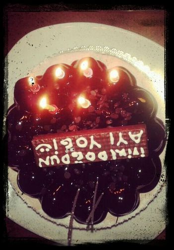 Feyzi kardeşimizin Pastası :))