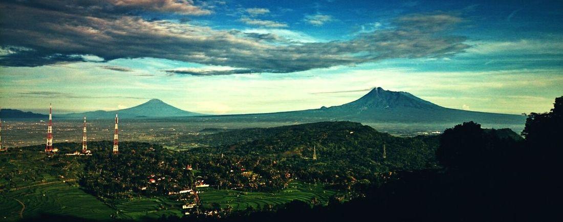 See merapi mountain