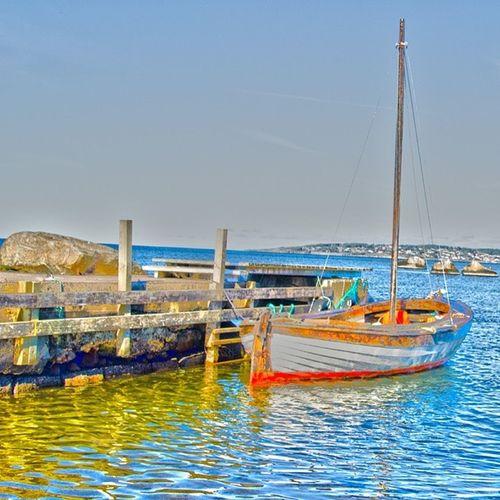 Time to set sail :) Hav Vatten Hamn Brygga himmel sea water stone boat autumn höstdag höst internationalpictures hejhalmstad halmstad halland