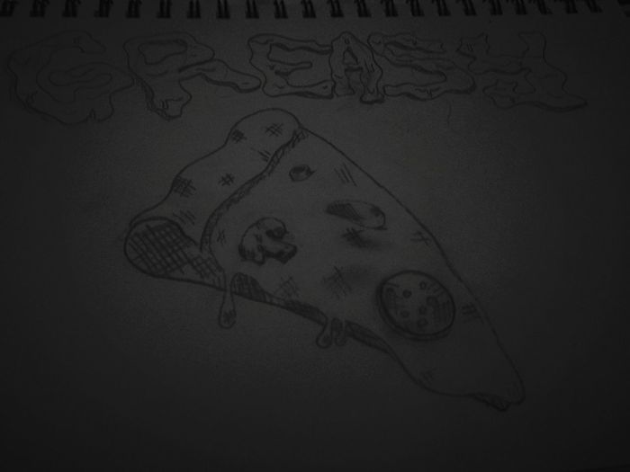 Grease Greasegang Pizza Art