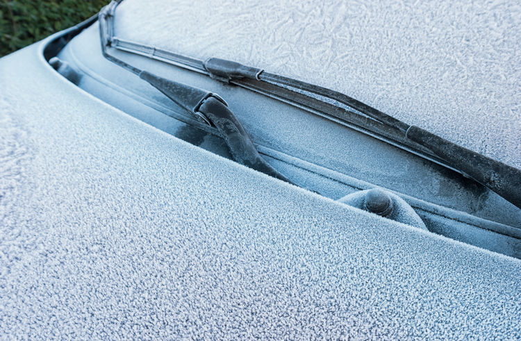 Car frozen with Hoarfrost Driver Frosted Frozen Hoarfrost Nature Transportation Winter Bonnet Car Cold No People Snow Snow Covered Temperature Windshield Windshield Wipers Winter Wonderland