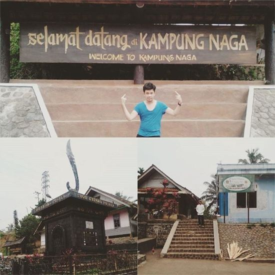 WELCOME TO KAMPUNG NAGA!! Travelingindonesia Kampungnaga Garut Tasikmalaya Travel INDONESIA Downtown Village Trip