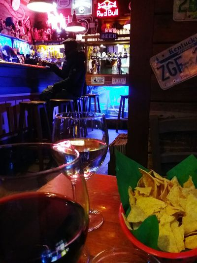 Enjoying Life Relaxing Hello World Cheese! First Eyeem Photo Wine Time Wineglass Wine Bar Messican Food Hello World Nightlife Night Out Colors