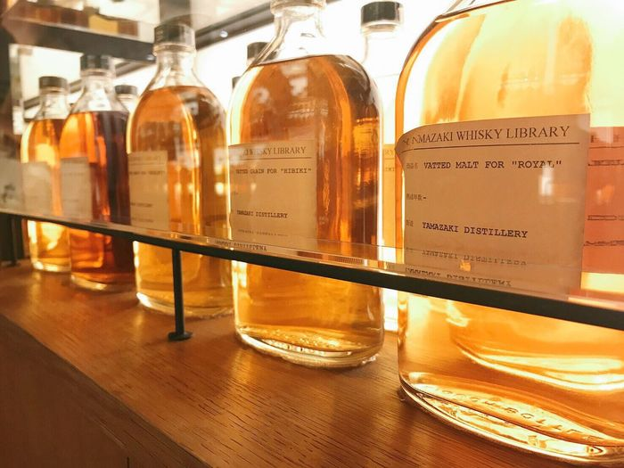 Bottle Science Laboratory Suntory Whisky Whisky Distillery Yamazaki