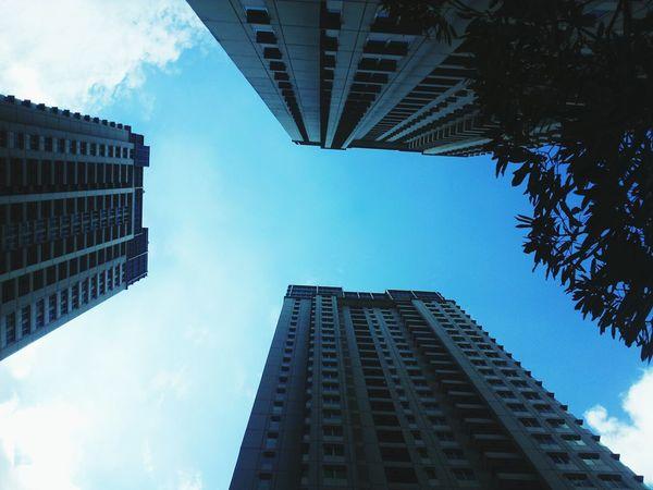 sky high :) Sky Tall Buildings Amazing Sky