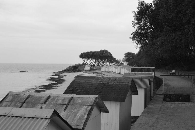 Black And White Noir Et Blanc Plage Des Dames Beach