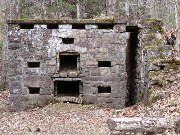 Old stone cook stove in a Pennsylvania state forest. Old Stone Cook Stove Stone Stove Old Times Abandoned Abandoned Places