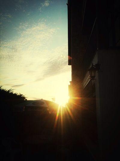 Summer sunset Neverendingsummer Beautiful Sunset Sun ☀ Sunset