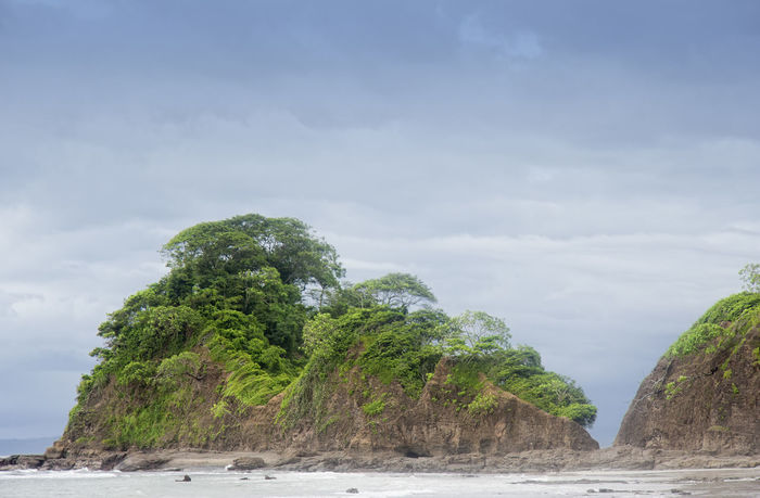 Peninsula with cliffs and tropical trees - Punta Leona, Costa Rica Beach Beauty In Nature Betterlandscapes Cliff Coastline Costa Rica Landscape Landscape_Collection Landscape_photography Lush Foliage Nature No People Peninsula Punta Leona Puntarenas Rock Rock Formation Rocky Coastline Scenics Sea Tree Tropical Tropical Climate Tropical Paradise Water