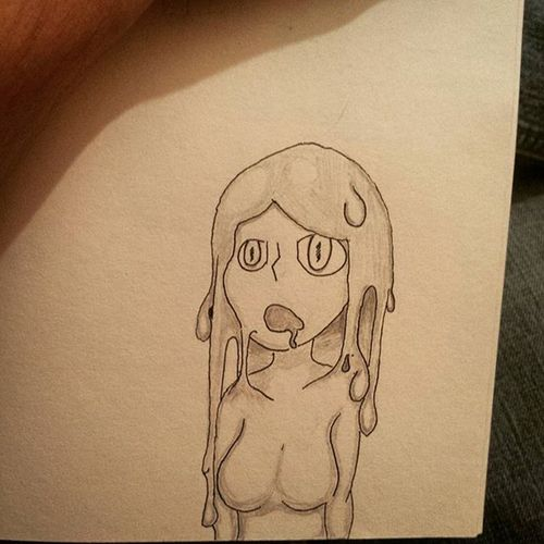 Goo gal Googal Googals Sketchbook Sketch Sketching Drawing Arting Art Artsy Slimygirl