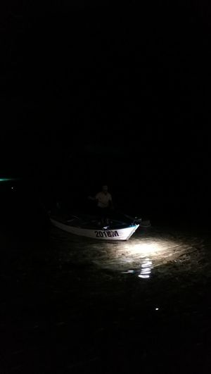 Fishing At Night Sea How We Used To Live Water Nautical Vessel Rowboat Sky