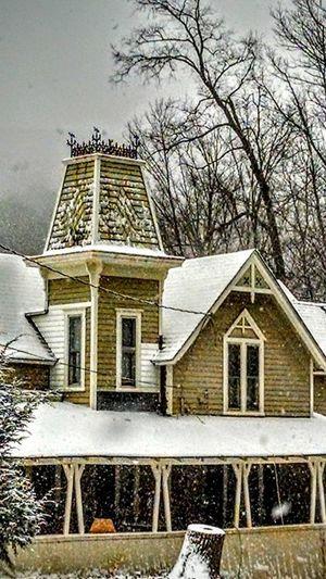 Pine Hill, N.Y. Architecture Houses Moody Sky Moody Sky Atmospheric Mood Tower Bridge  Victorian Victorian Home Victorian House Widow's Nest Widow's Peak Widow's Walk