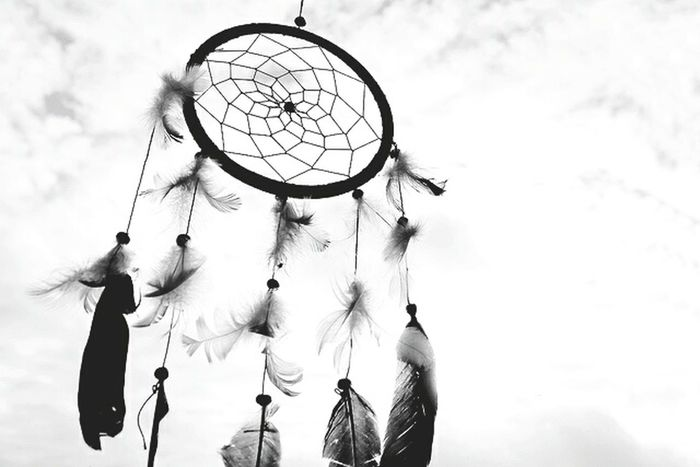 Don't fear nightmares just Dream Dreamcatcher Relaxing Taking Photos Check This Out Black And White Looking At Things