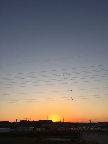 夕焼け Sunset 空 Sky グラデーション Gradation