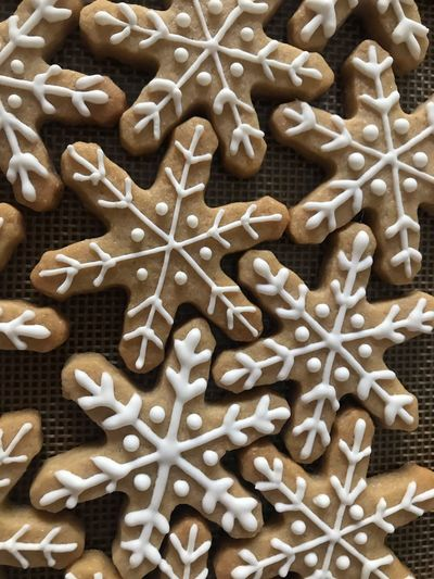 Christmas cookies Indoors  Sweet Food Still Life Full Frame Close-up Food Large Group Of Objects White Color Sweet Baked Cookie Freshness High Angle View Design Abundance No People Food And Drink Shape Backgrounds Pattern