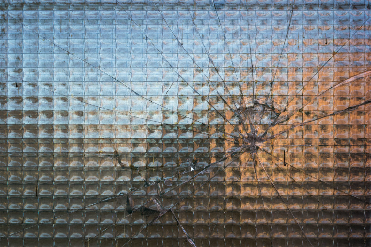 textured, backgrounds, pattern, window, full frame, destruction, no people, day, close-up, outdoors