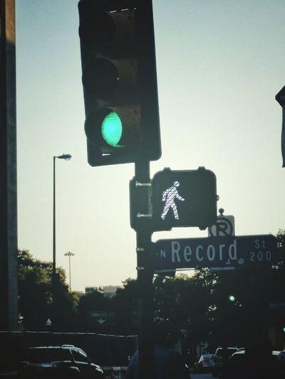 walk sign City Road Sign Tree Illuminated Stoplight Guidance Direction Sky Green Light Road Signal Traffic Light  Pedestrian Crossing Sign Crossing Sign Crossroad Signal Pedestrian Sign Street Name Sign Traffic Signal