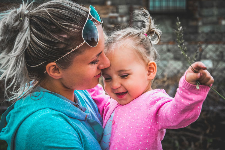 Love Spring EyeEm Best Shots Outdoors Child Childhood Girls Headshot Females Close-up Two Parents Family Bonds Daughter Mother Parent Young Family Single Mother One Parent