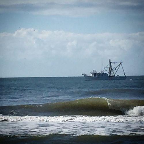 Shrimp Boat Folly Beach SC Folly Beach Shrimp Boat Vikki Bradley O'Keefe Art