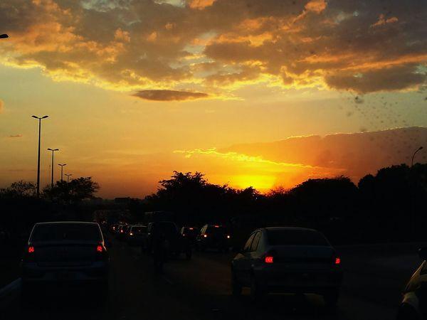 Yellow Brazil Nature Skyporn Sunset Clouds Sky Natureza Sky Collection Orange