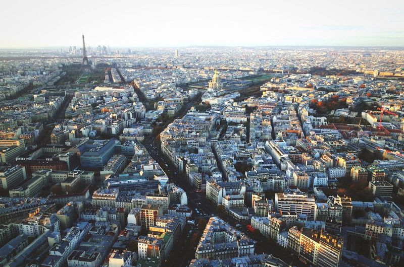 Sunset view over the Paris metropolis, from the Tour Montparnasse. Cityscapes Paris Open Edit Sunset Urban Landscape