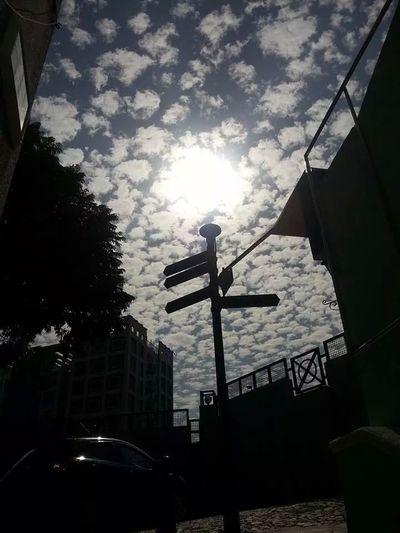 no filter cloudy sky.Taipa  Macau Macao  Walking Around