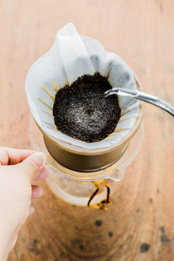 Drip Coffee Coffee Coffee Shop Coffee And Cigarettes Coffee Time Coffee ☕ Pour Over Pour Over Coffee Black Coffee Coffee - Drink Coffee Drip Coffeelover Drink Drip Coffee Dripping Water Filtered Coffee Focus On Foreground Food And Drink Human Hand Lifestyles