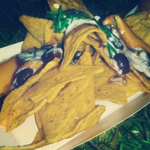 Amazing Nachos at Vanvanbarcelona Eurekastreetfood food barcelona
