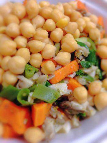 Chickpeas Sweet Potatoes My Dinner Healthy Food Vegan Food Vegetarian Food Vegetables 365 Photos In 2015 Closeup