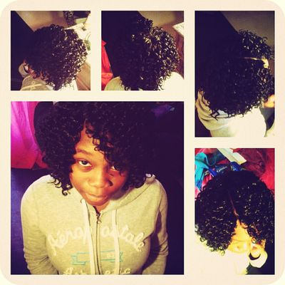 Hair Done By Me :)