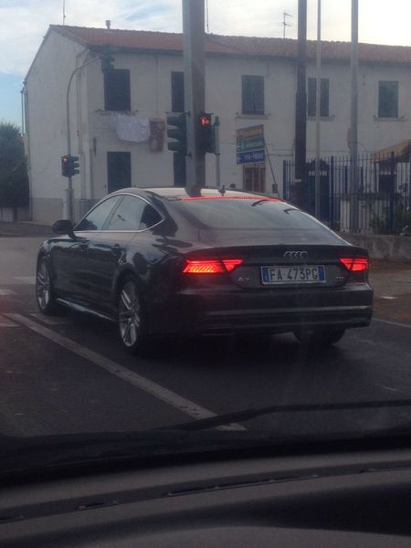 Goodmorning EyeEm  Buongiorno Streetphotography From My Point Of View Car Auto Audi A7