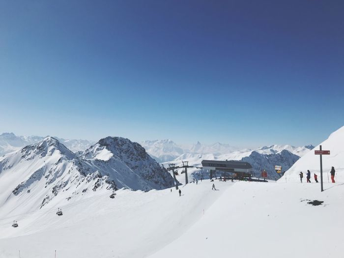 Switzerland Snow Winter Cold Temperature Mountain Weather Snowcapped Mountain Nature Skiing Beauty In Nature