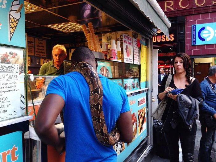 Street Photography in London Hanging Out Check This Out