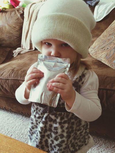 My baby niece! Babygirl Cutekids Following back until 50 follows!
