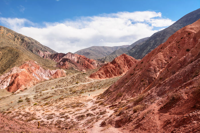 Hill of seven colours in Jujuy province (Argentina) Andes Argentina Arid Climate Canyon Cerro Cerro De Los 7 Colores Cerro De Los Siete Colores Cerro De Los Siete Colores En Jujuy Colors Colours Desert Hill Hill Of Seven Colours Humahuaca Jujuy Landscape Nature Purmamarca Quebrada Rock Rock - Object Scenics Seven