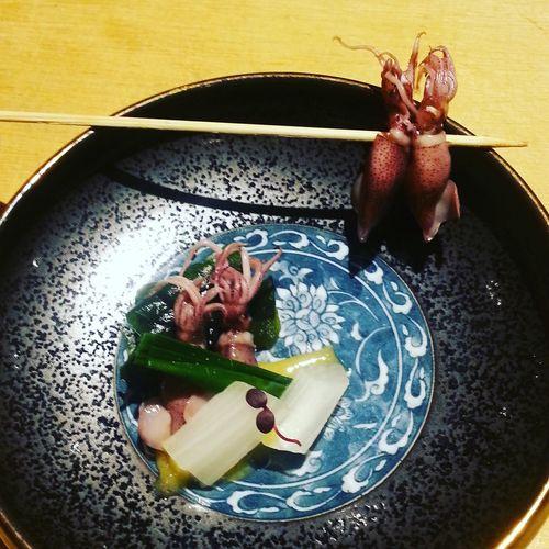 Springtime Firefly Squid Eel Japanese Food