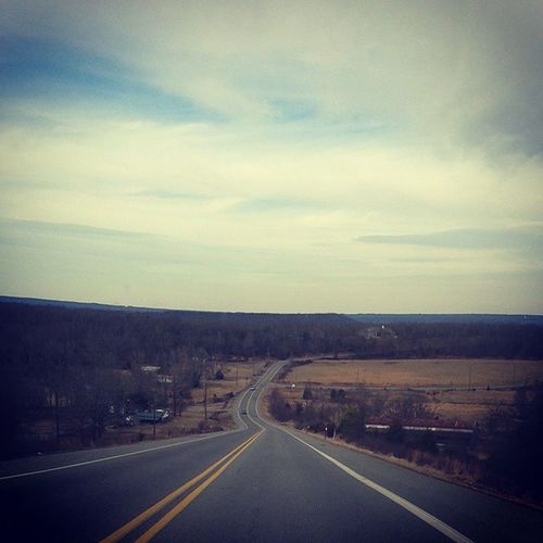 This road means everything to my soul... BackRoadsTakeMeHome SouthernComfort DriveYourWorriesAway AndNeverGetLost WhereMyBestIdeasAreMade GetsMyCreativeJuicesFlowing JustRideWithNoDestination