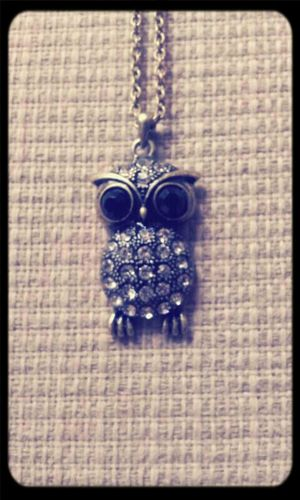 Owl Necklace MyFavorite  Gifts!