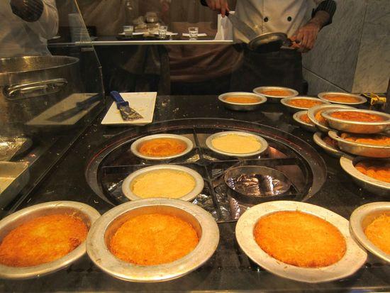 Kanafeh Nabulsieh Filo Pastry Kunafa Kanafeh Arabic Dessert Arabic Sweet Knafeh Knafe Food And Drink Food Indoors  Freshness Ready-to-eat No People Close-up