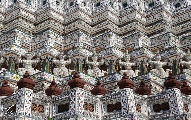 Full frame shot of temple