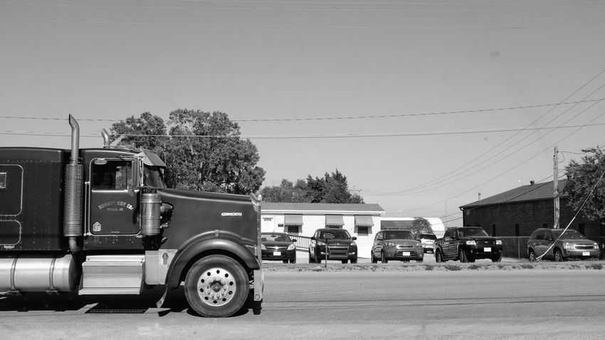 Visual Journal July 2017 Fairbury, Nebraska Big Rig Camera Work Everyday Lives EyeEm Best Shots FUJIFILM X100S MidWest Nebraska Rural America Storytelling Visual Journal Always Taking Photos Auto Portrait Cable Car Commercial Land Vehicle Day Electricity Pylon Eye For Photography Fast Shutter Speed Land Vehicle Mode Of Transport My Neighborhood No People On The Road Outdoors Photo Diary Pick-up Truck Road Semi-truck Sky Small Town Stories Transportation Tree