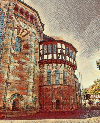 Fritzlar - Germany Summer 2017 Make It Old Old Town Architecture Building Exterior Built Structure Foto Effects Fritzlar History No People Outdoors Place Of Worship Religion Sky