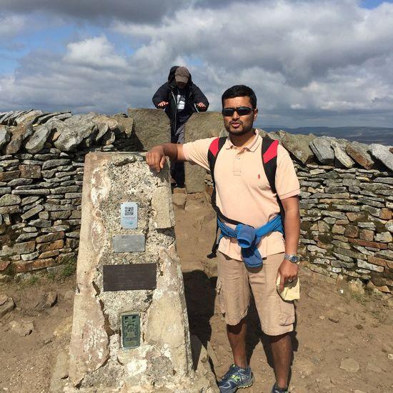 Yorkshire Three Peaks Whernside Summit View