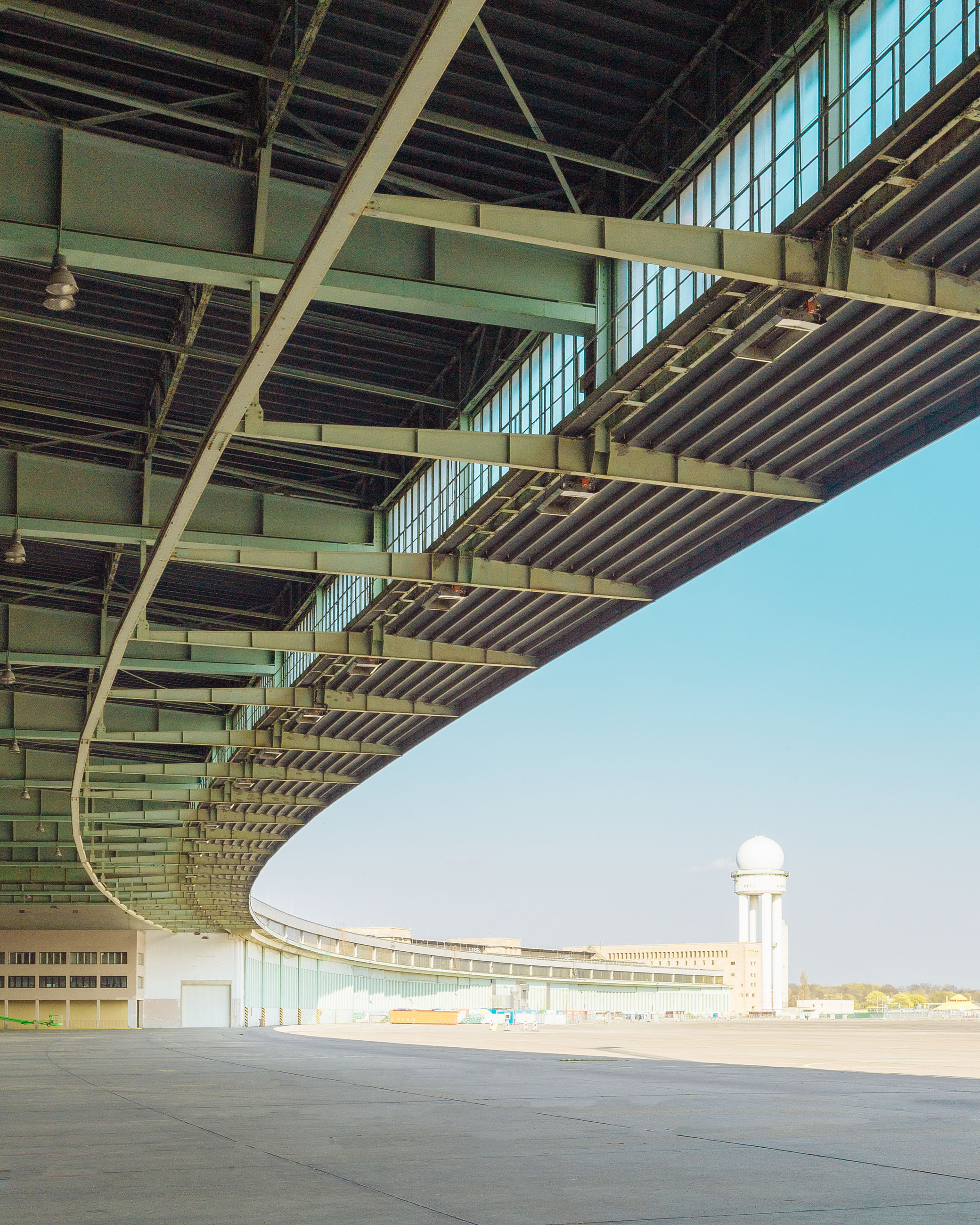 architecture, built structure, day, sky, no people, nature, bridge, building exterior, connection, architectural column, building, low angle view, transportation, bridge - man made structure, sunlight, outdoors, clear sky, ceiling, city, staircase